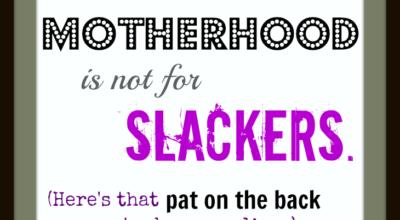 Not for slackers