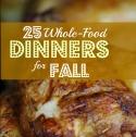 fall dinners