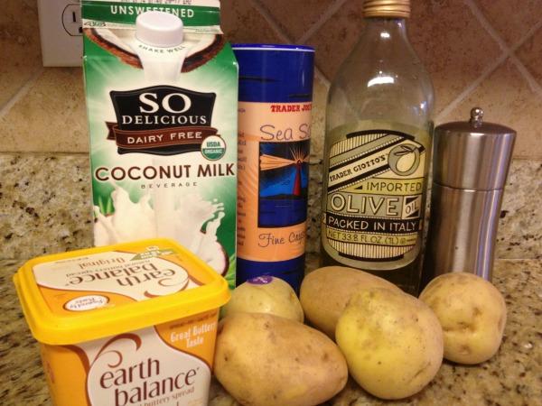 Dairy free mashed potatoes