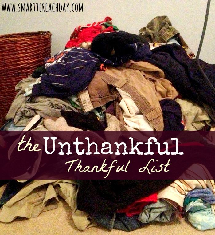 unthankful