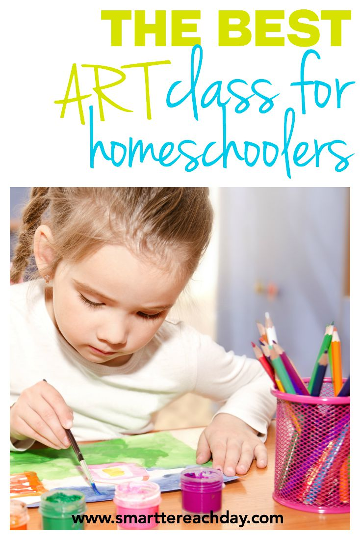 the best art class for homeschoolers