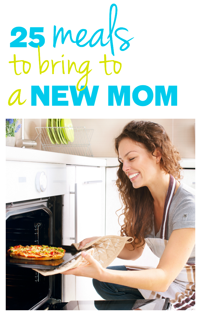 meals for a new mom