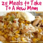 meals to take to a new mom