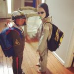 My kids are so creative. They're scuba divers. . However…