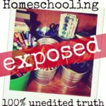 On the blog today. The REAL STORY of homeschooling.
