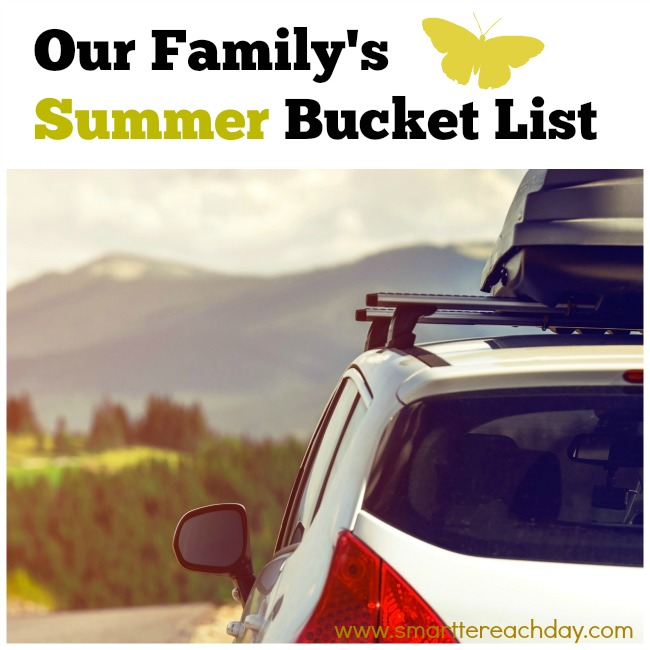 Summer Bucket List 1