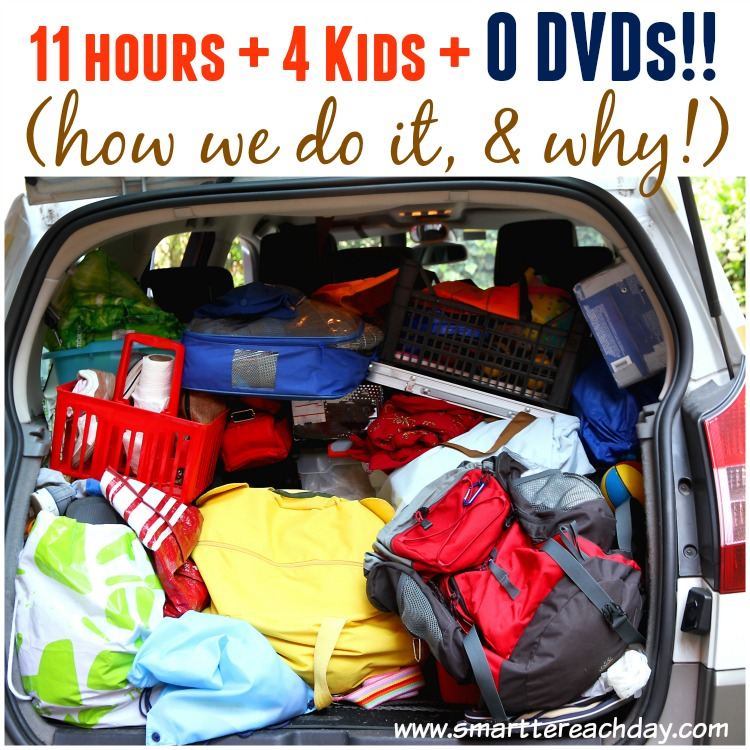 THE ULTIMATE FAMILY CAR TRIP GUIDE - 4 Kids, 11 Hours, And NO DVDs! Includes strategic snack info, instructions on a car binder for each child, car ride games, behavioral tactics and MORE