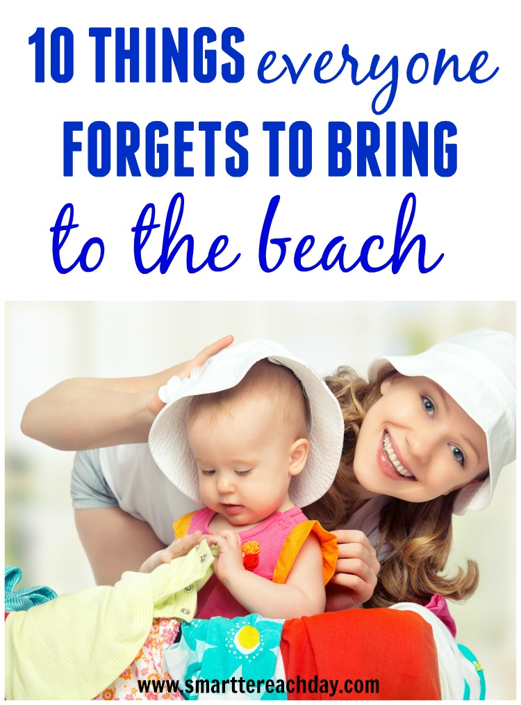 Forget the sunscreen and towels. Here is what you REALLY need for your beach vacation and never remember! - These are great!