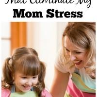 FOur Words Mom Stress