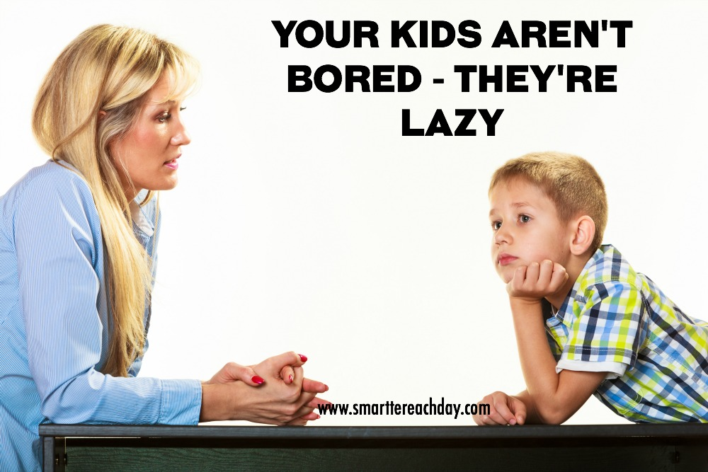 Your Kids Aren't Bored FB