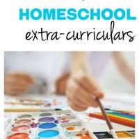 afternoon homeschool extracurriculars