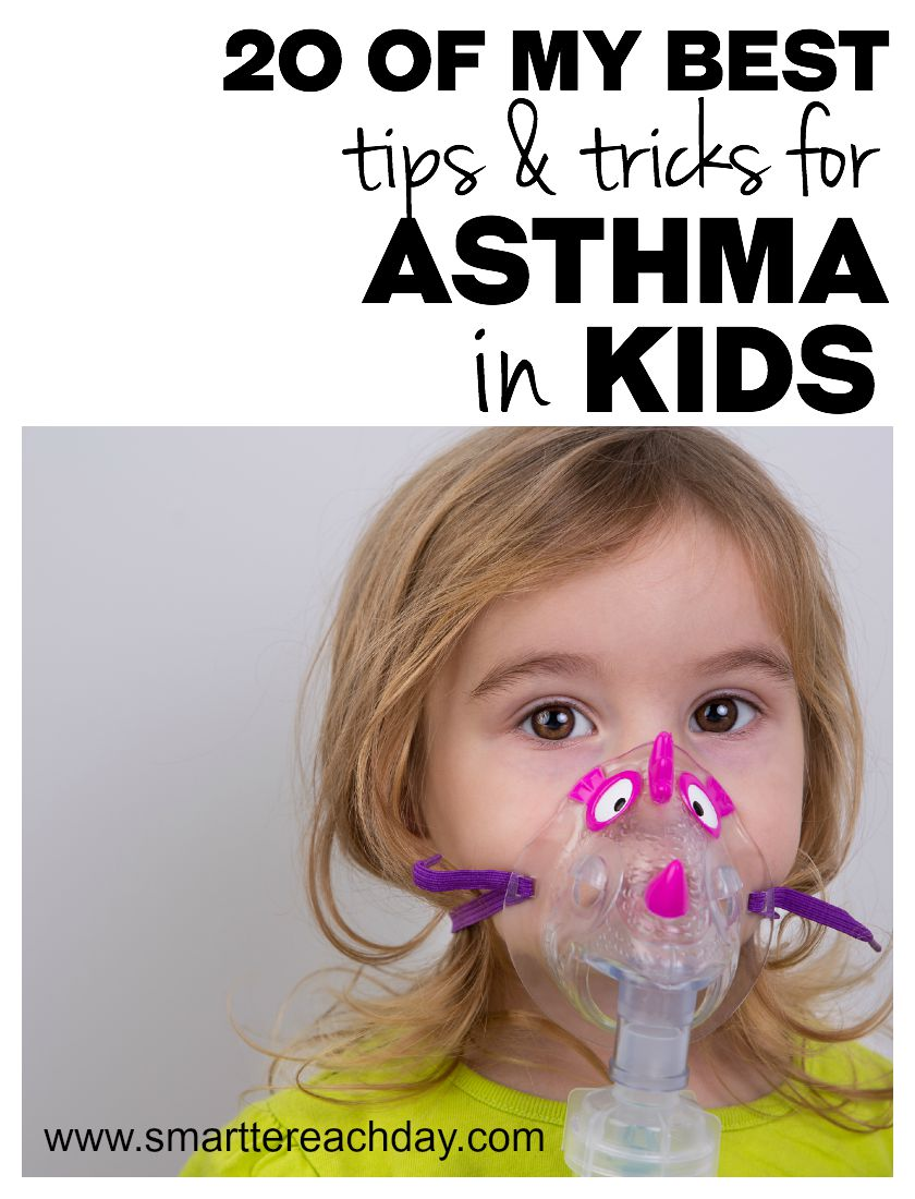 Managing your kids' asthma can be stressful! Check out these 20 great tips for treating asthma in children!