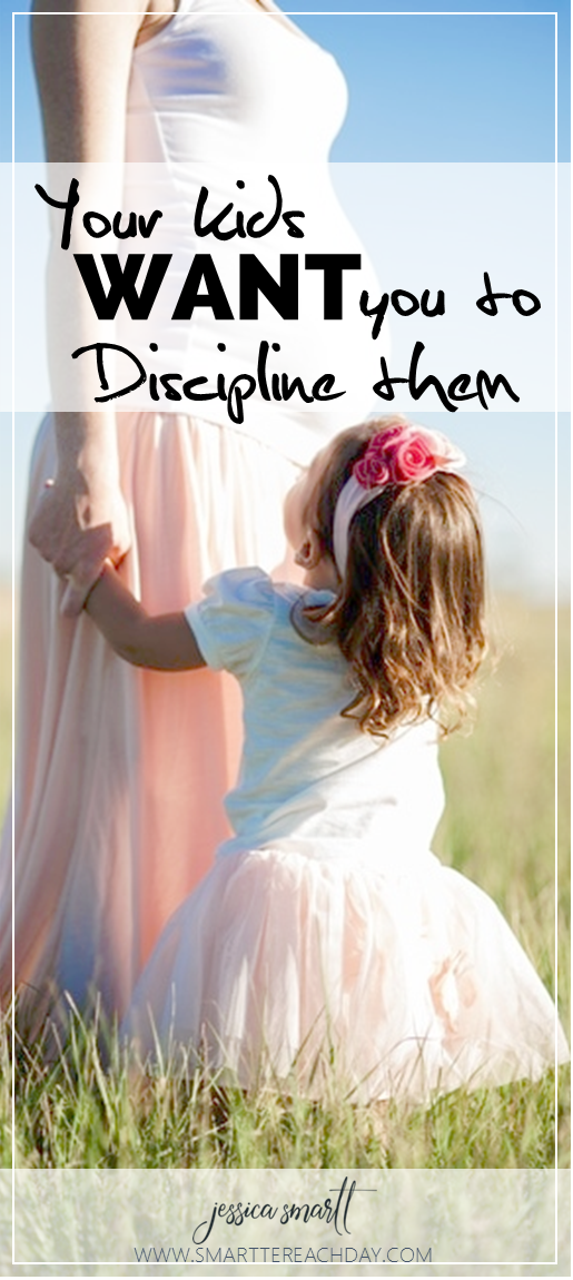 Your kids WANT you to discpline them