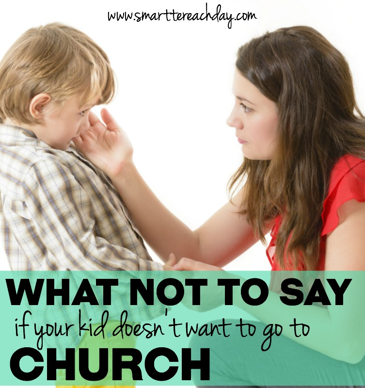 If your child doesn't seem to enjoy church, don't freak out. Relax – he's human, just like the rest of us. You'll never guess what changed my kid's attitude!
