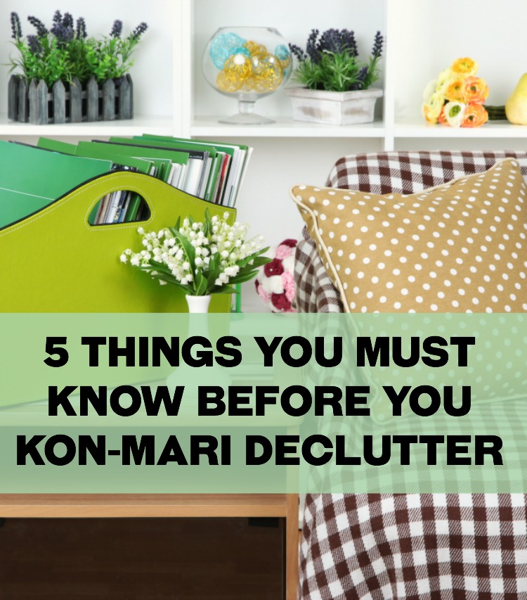 If you've considered (or started) the Kon-Mari decluttering method READ THIS FIRST. Must-know helpful tips for the process. Wish I'd have read this first!