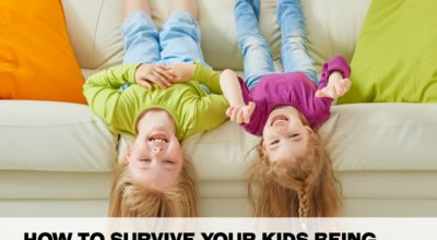 how to survive kids home during the summer