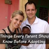 before adopting