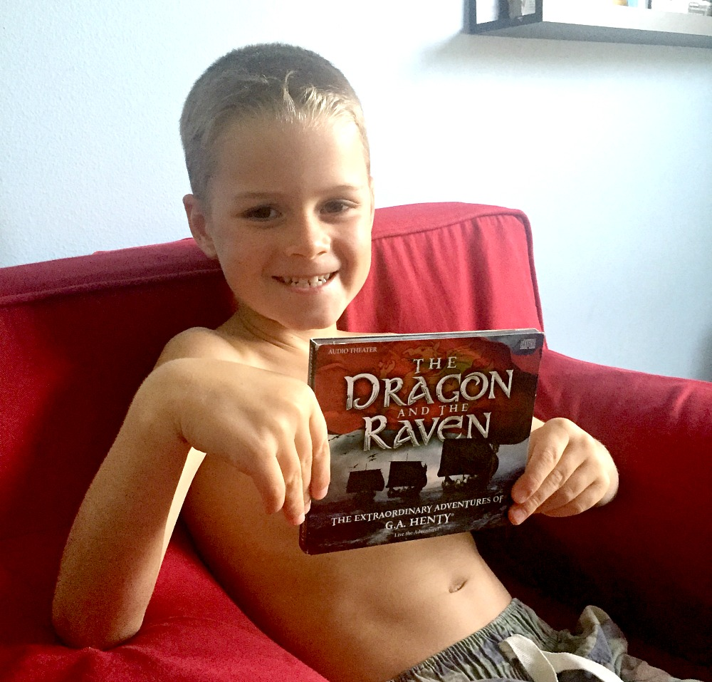 Dragon and Raven review, Heirloom Audio for homeschoolers
