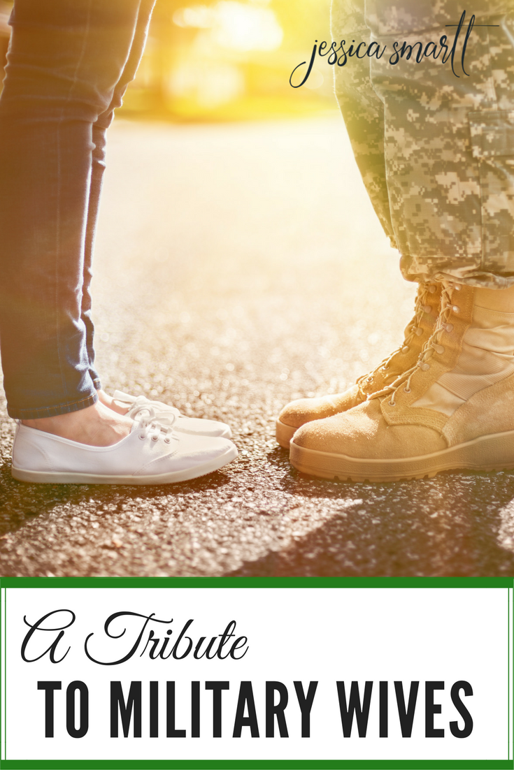 My longtime friend Krista is a military wife! Her story is a testament to all of us that God is with us no matter what our lives are like! Thank you to all of the military wives out there!