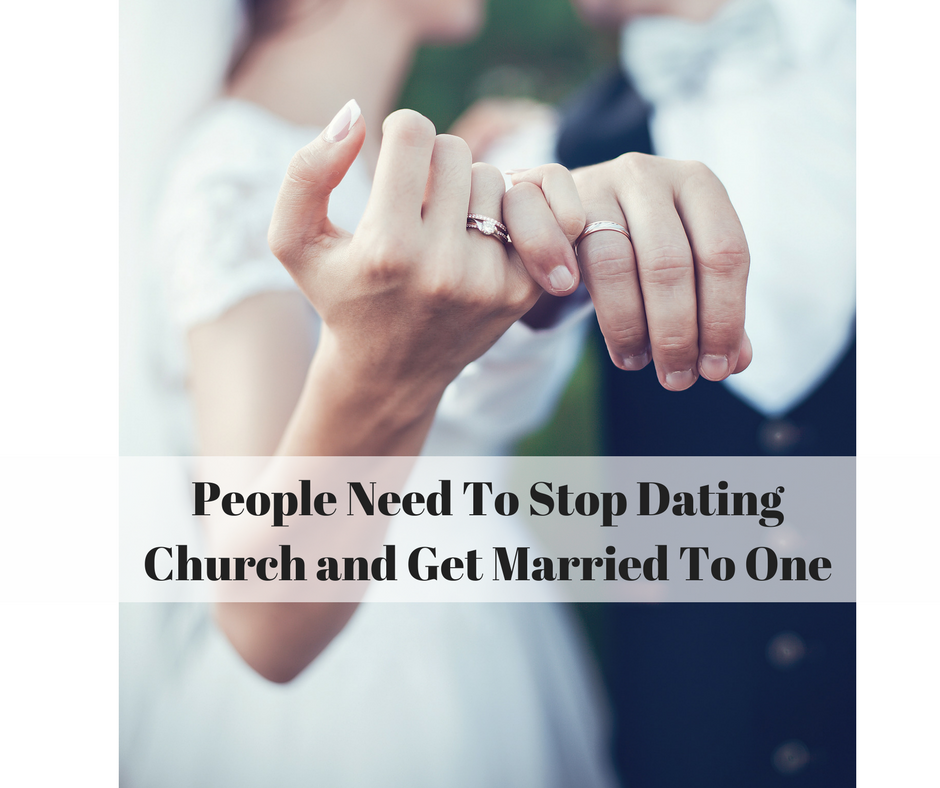 Stop dating the church in Melbourne